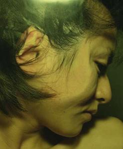 07 中尾曜子「死画像 7」 35.8×43.4cm/タイプCプリント