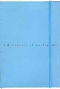 a dictionary of moving out