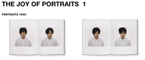 北島 敬三 写真集「The Joy of Portraits」