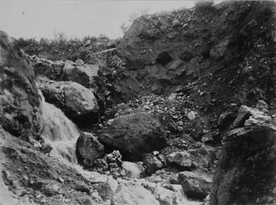 『昭和九年七月 新潟土木出張所管内 直轄工事被害状况寫真』