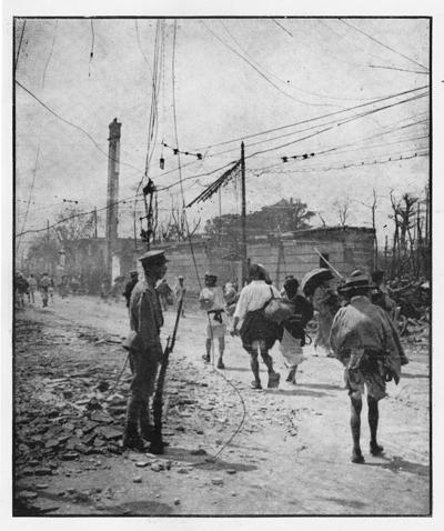 三宅克己《戒厳令の布かれたる東京市中》、『カメラ』1923年10月号より