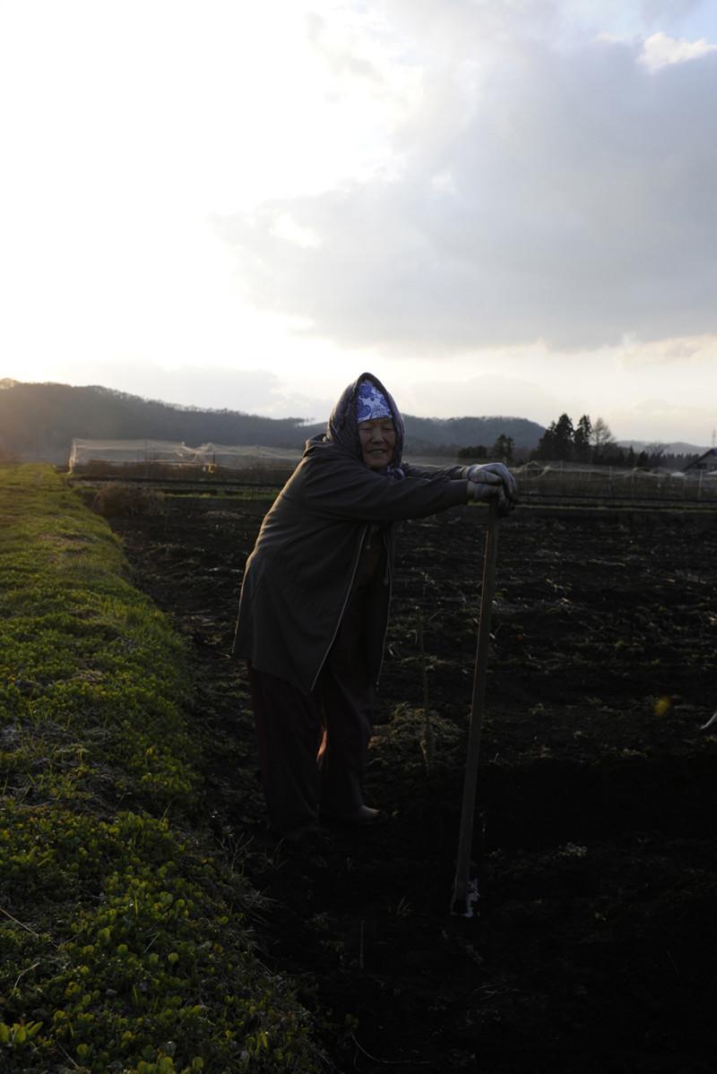 2013年4月19日岩手県盛岡市玉山区芋田 「啄木が先生の時、私のお母さんが生徒でした」石川啄木記念館の近くでお会いした女性です。