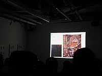 スライドは、小島が撮った貴重なカラー作品。