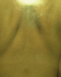 03 中尾曜子「死画像 3」 35.8×43.4cm/タイプCプリント