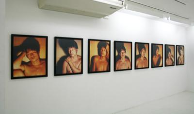 "Mariko Takahashi/高橋 万里子  ""月光 4. 男影"""