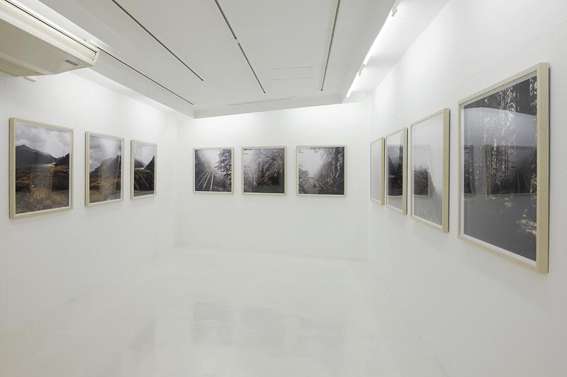 展示内容/《kuma diptychs》 Cプリント、500 x 500mm、29点  《kuma triptychs》 Cプリント、750 x 750mm、15点