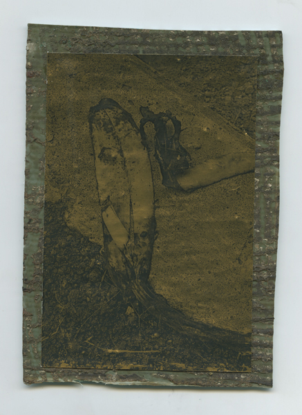 長尺シート、金紙、164×117mm