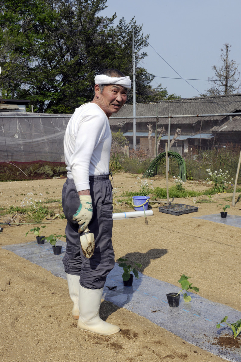 2013年4月29日茨城県北茨城市関本町富士ヶ丘 かつて、常磐炭坑で炭坑夫として働かれていた男性です。