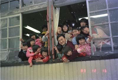 増山たづ子《櫨原分校、1983年》